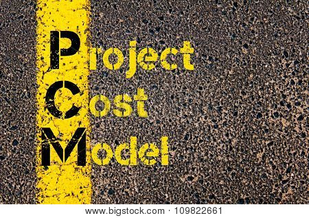 Accounting Business Acronym Pcm Project Cost Model