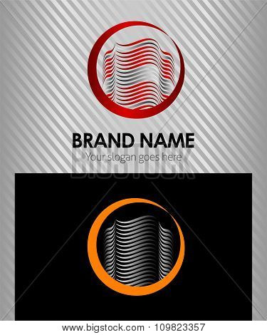 Building home construction sign branding identity corporate logo isolated