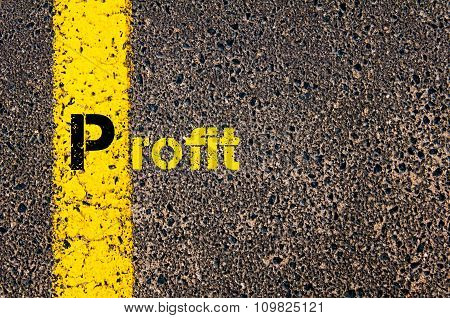 Accounting Business Acronym P Profit