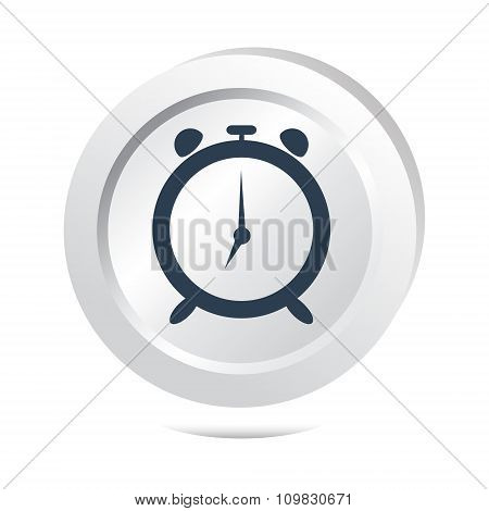 Alarm Clock, Wake Up Sign Button Icon