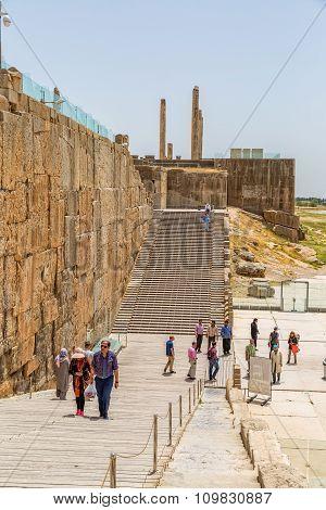 Entrance stairs of Persepolis