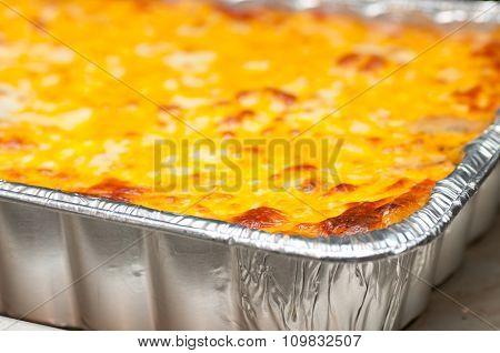 Home Made Lasagna, An Italian Holiday Meal