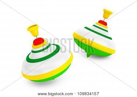 Striped Whirligig Toys