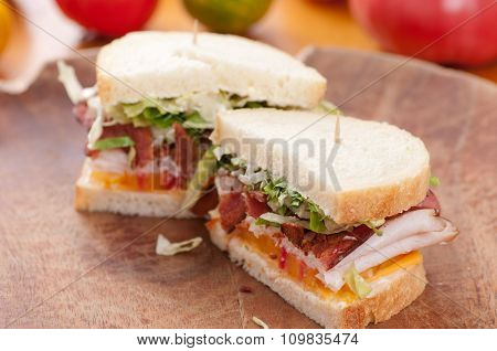 Bacon Turkey Sandwich