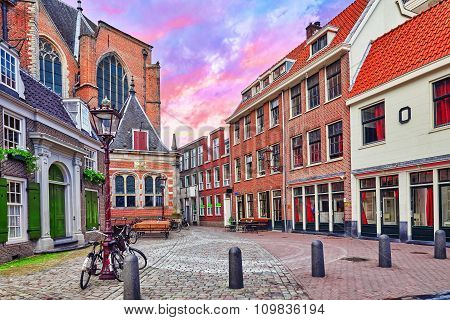 Beautiful Views Of The Streets, Ancient Buildings Of Amsterdam - Also Call