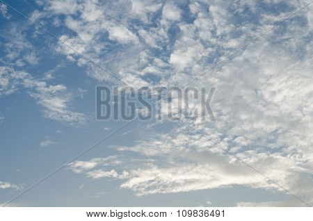 Clouds And Blue Sky.