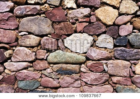Abstract red stone background