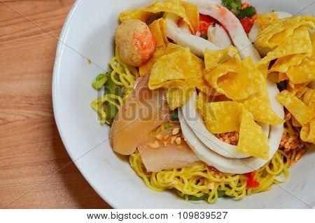 Yong Tau foo noodles