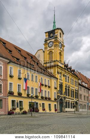 Town Hall In Cheb, Czech Republic