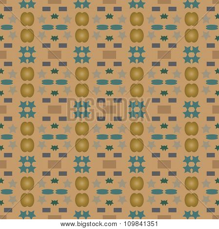 Vector Seamless Pattern Or Print