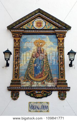 Church picture, Vejer de la Frontera.