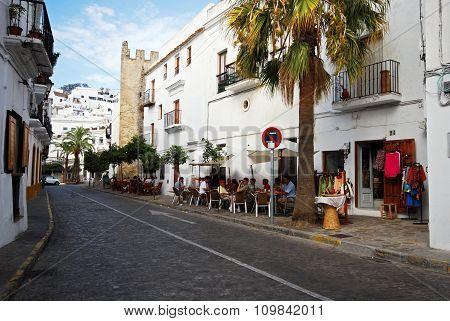 Town Street, Vejer de la Frontera.