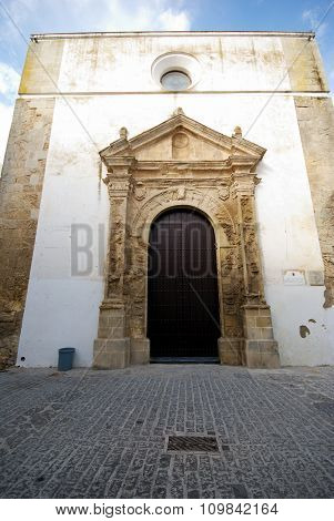 Church doorway, Vejer de la Frontera.