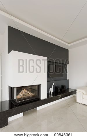 Modern Design Fireplace