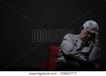 Unhappy Old Man