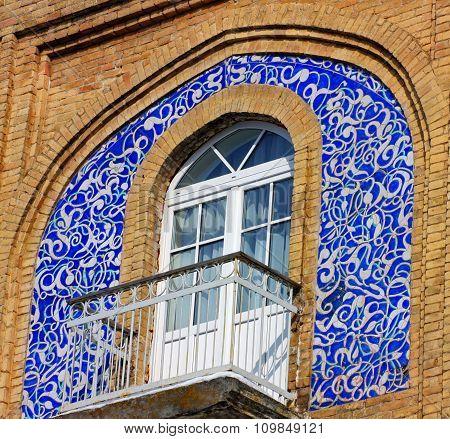 Decorated Arabic Style Balcony