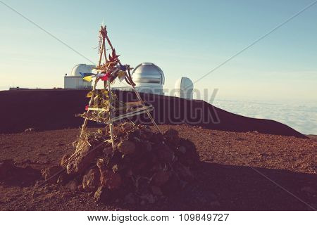 Summit Mayna Kea in Hawaii