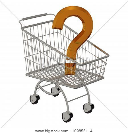Gold question in shopping cart