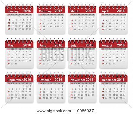 Accurate Calendar 2016