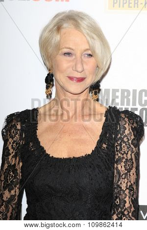 LOS ANGELES - DEC 12:  Helen Mirren at the 27th American Cinematheque Award at the Beverly Hilton Hotel on December 12, 2013 in Beverly Hills, CA
