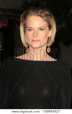 LOS ANGELES - FEB 15:  Joelle Carter at the Make-Up Artists And Hair Stylists Guild Awards 2014 at the Paramount Theater on February 15, 2014 in Los Angeles, CA