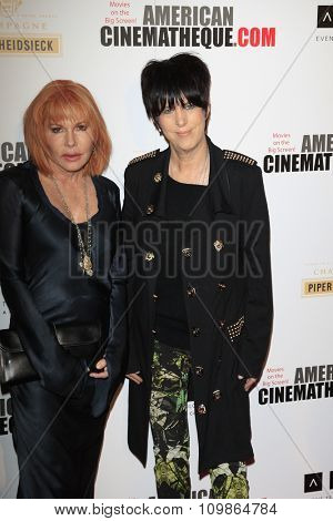 LOS ANGELES - DEC 12:  Kathy Nelson, Diane Warren at the 27th American Cinematheque Award at the Beverly Hilton Hotel on December 12, 2013 in Beverly Hills, CA