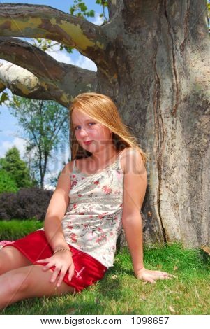 Young Girl Tree