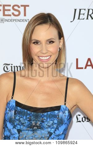 LOS ANGELES - JUN 19:  Keltie Knight at the