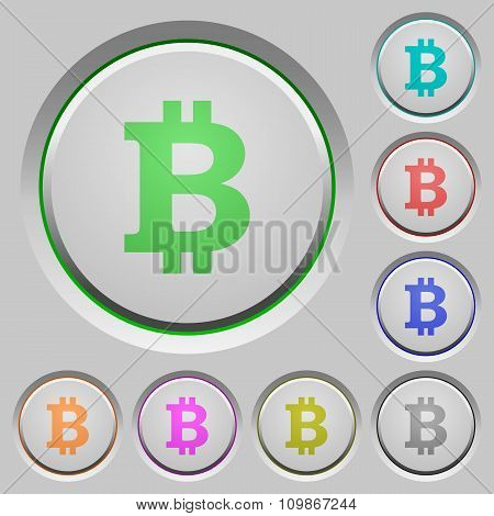 Bitcoin Sign Push Buttons