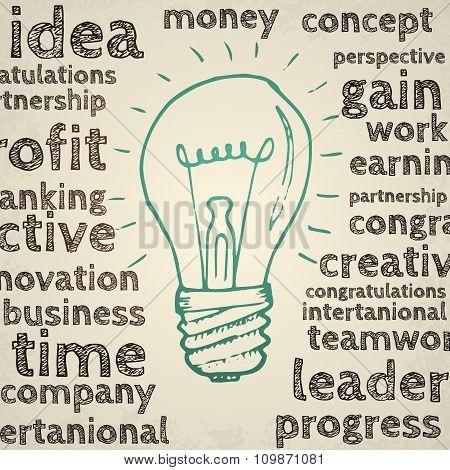 Idea concept illustration.