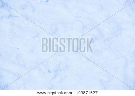 Snow Background Close Up