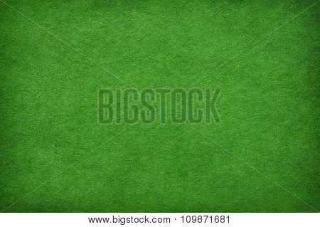 Abstract Green Felt Background