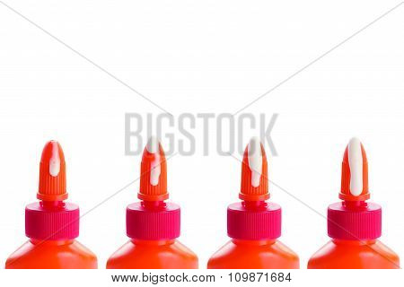Glue Bottles Set With Drops