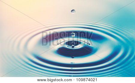 Water Drop in Sunlgiht