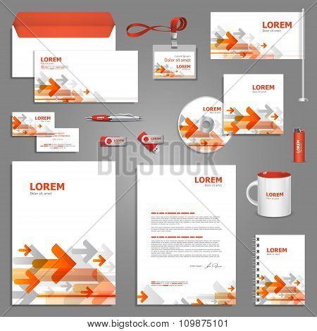 Digital Stationery Template Design