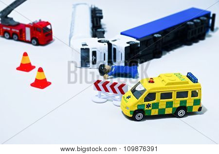 Road Accident Crash - Fake..