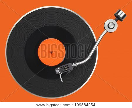 Abstract Turntable
