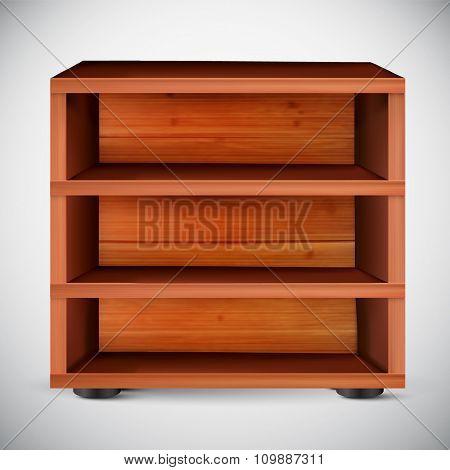 vector shelf illustration