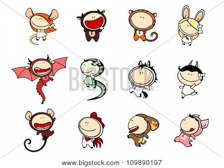 Funny kids #81 - Chinese Zodiac signs