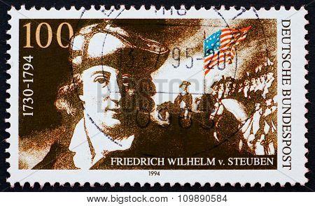 Postage Stamp Germany 1994 Baron Friedrich Von Steuben