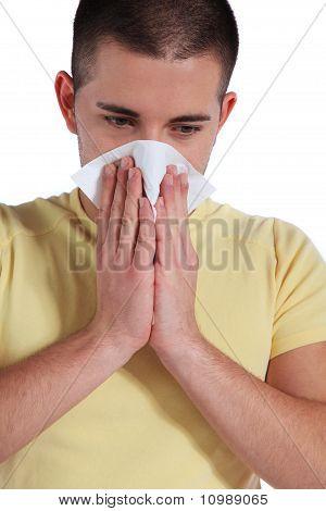 Soplar por la nariz