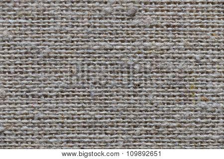 Closeup Natural Linen Textile Texture