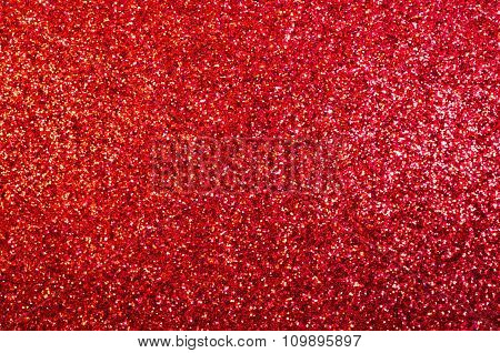 Abstract Background Red Sparkly Glittery Panel