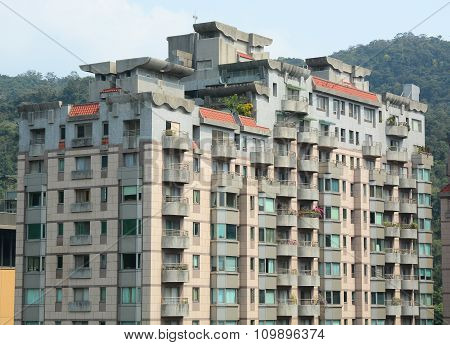 Image Of Residential Buildings Of New Taipei