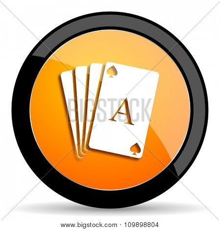 card orange icon