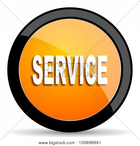 service orange icon