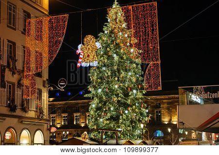 Strasbourg Christmas Tree 2015