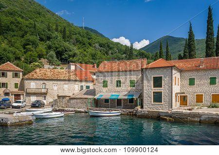 Old Montenegrian fisherman's village