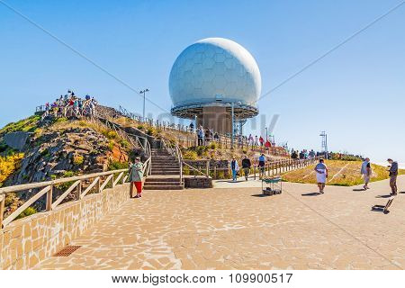 Pico Do Arieiro - Radar Station