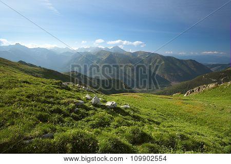 Tatra Mountains in the springtime